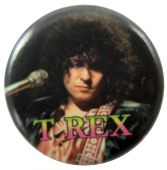 T.Rex - 'Marc Black' Button Badge